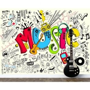 Ressens la musique papier peint 3d