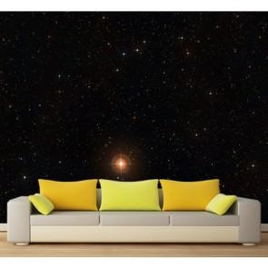 Sous les étoiles tapisserie appliqué sur le mur