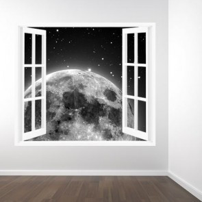 Montée de la lune papiers peints photo 3D