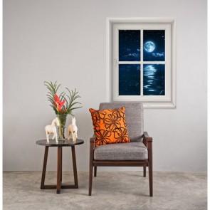Clair de lune depuis ma fenêtre tapisserie