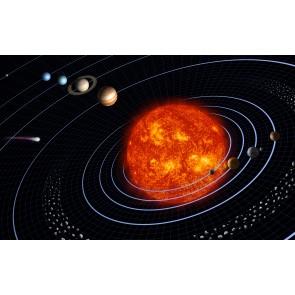 Orbite Terrestre Dans La Voie Lactée