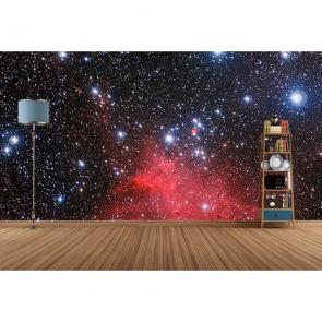 Étoiles brillantes tapisserie murale appliqué sur le mur