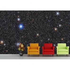 Starfall papier peint 3d appliqué sur le mur