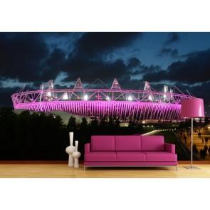 Stade olympique de Londres tapisserie murale