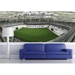 Stade Beşiktaş Vodafone Arena tapisserie appliqué sur le mur