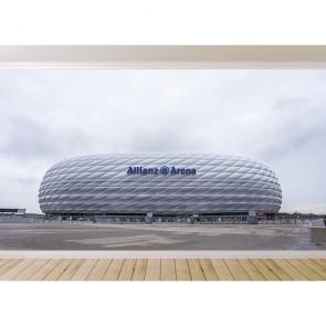 Allianz Arena papiers peints photo appliqué sur le mur
