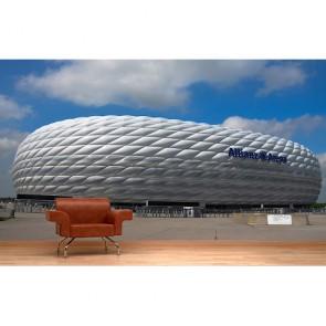 Munich Allianz Arena papier peint appliqué sur le mur