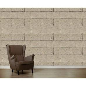 Mur de pierre crème papiers peints photo