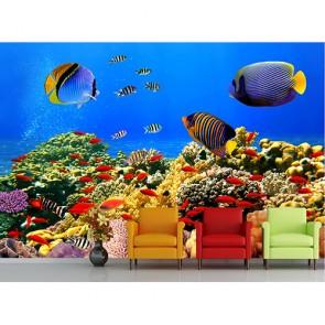 La vie marine decoration murale appliqué sur le mur