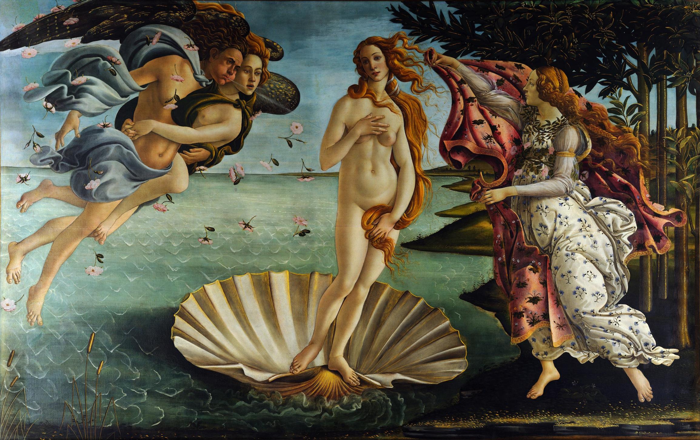 Naissance de Vénus papiers peints photo
