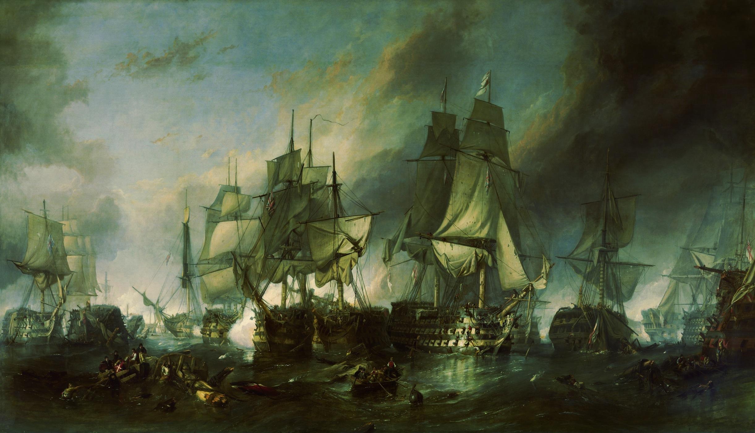 Plainte de Trafalgar papiers peints photo