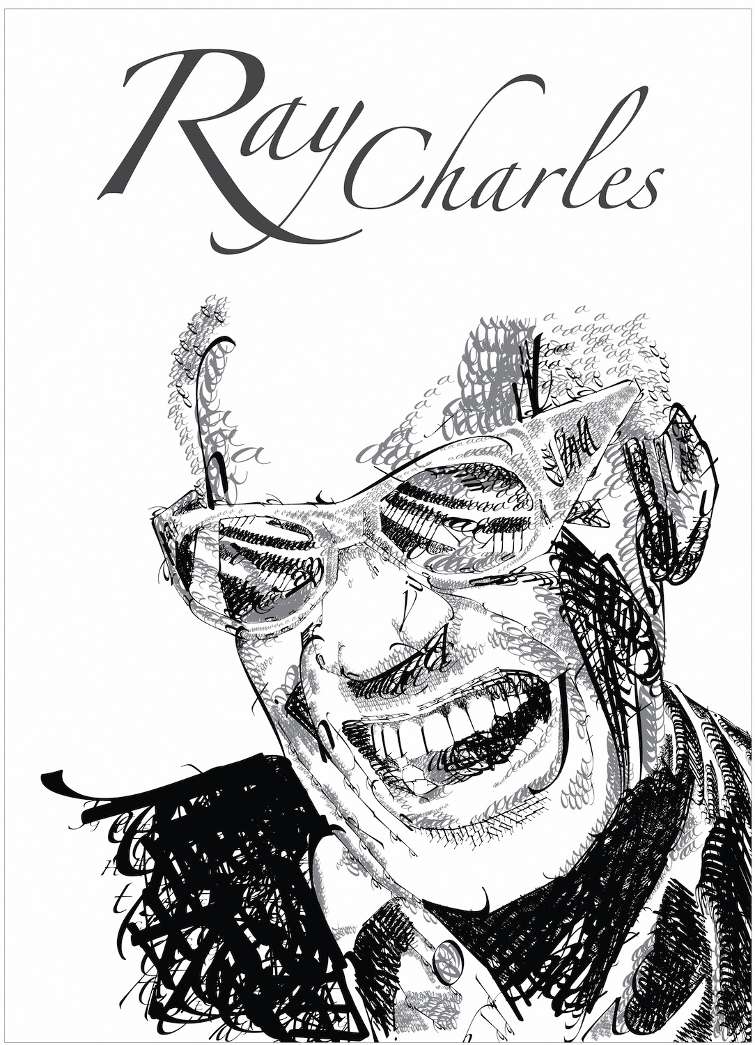 Ray Charles tapisserie