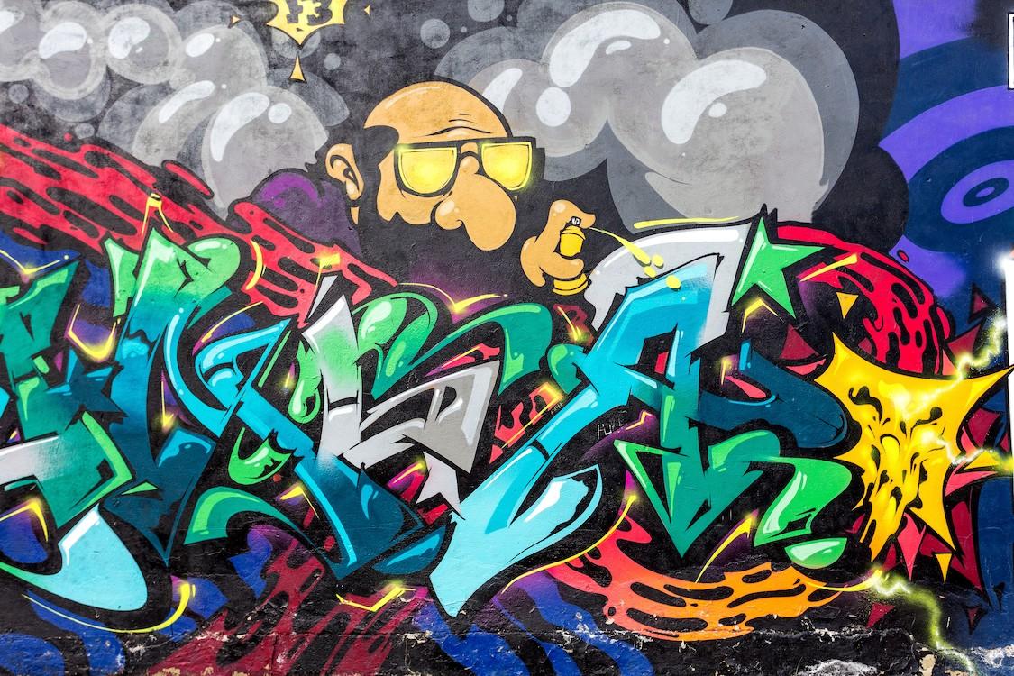 Spray Graffiti papiers peints photo 3D