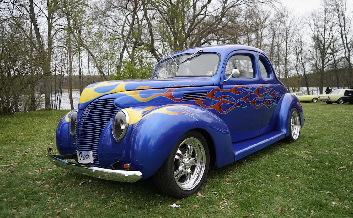 Modèle de voiture classique decoration murale