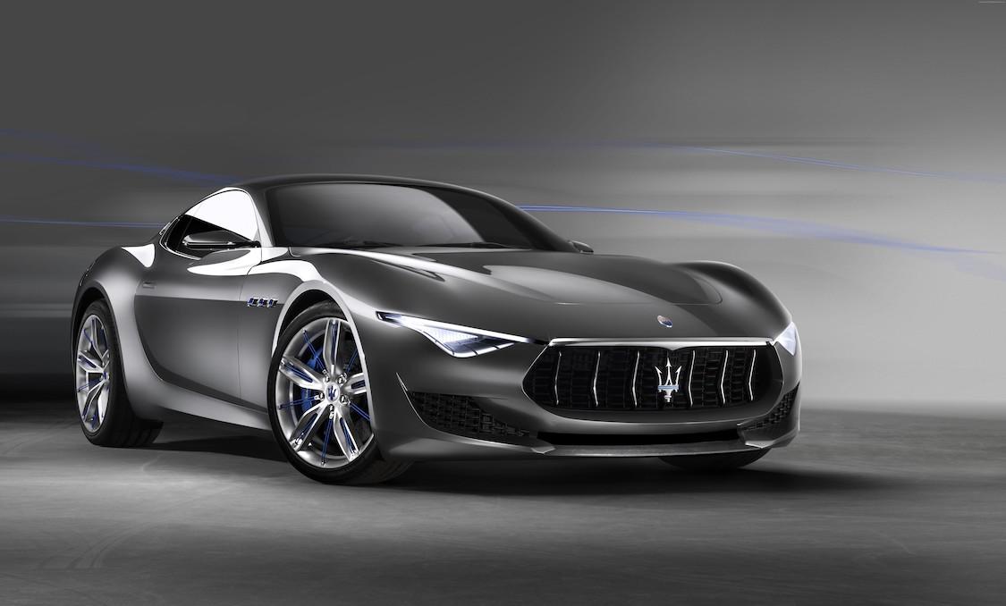 Voiture de luxe Maserati papier peint 3d