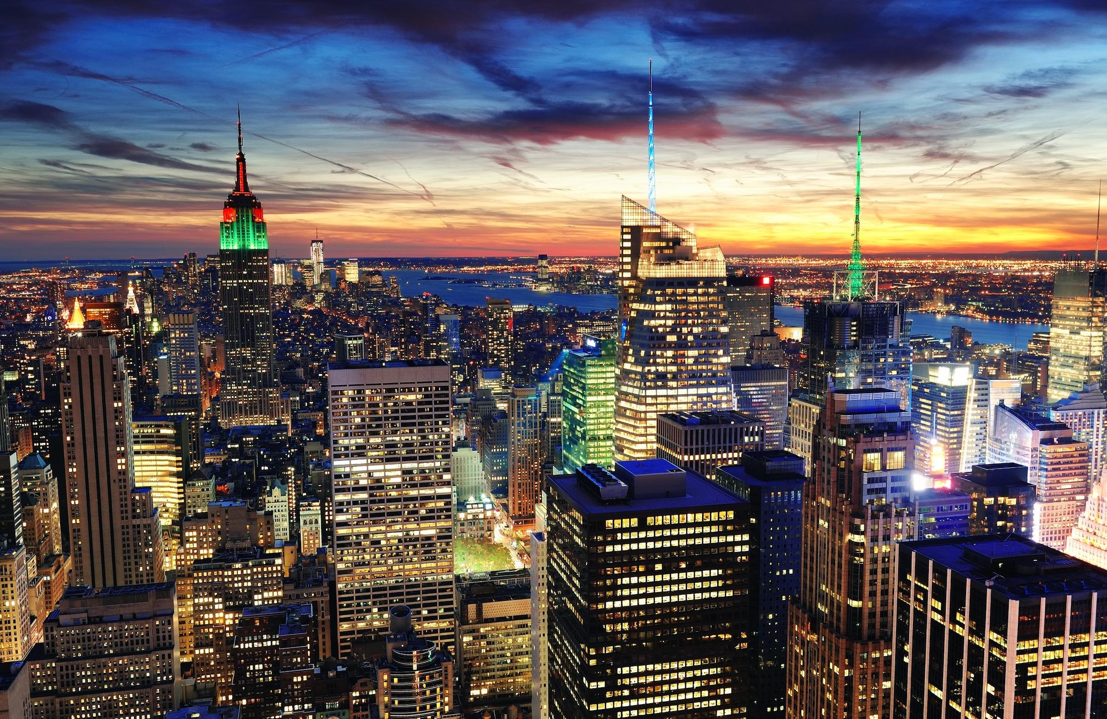 Briquet à New York papier peint