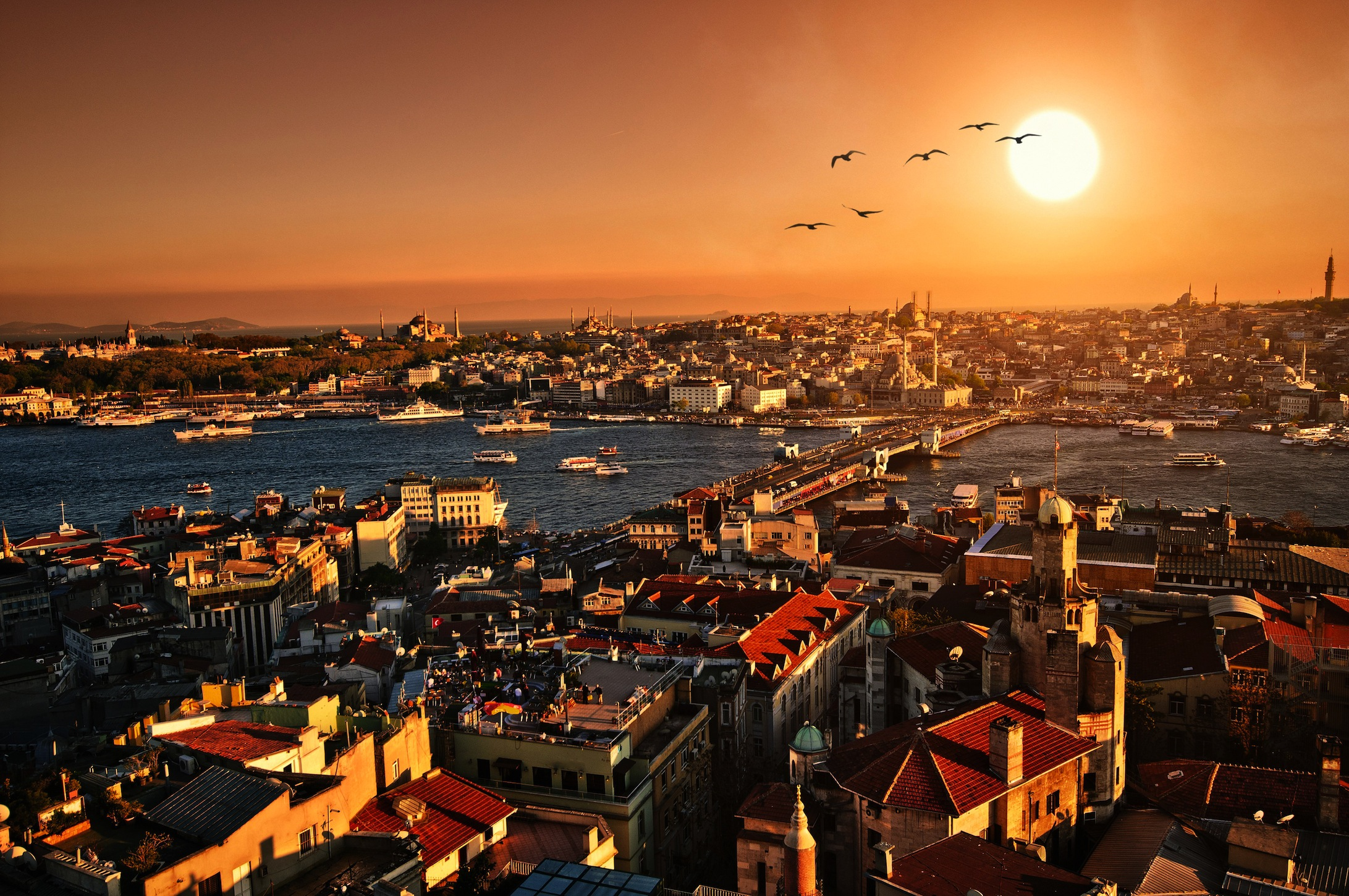 C'est Istanbul decoration murale