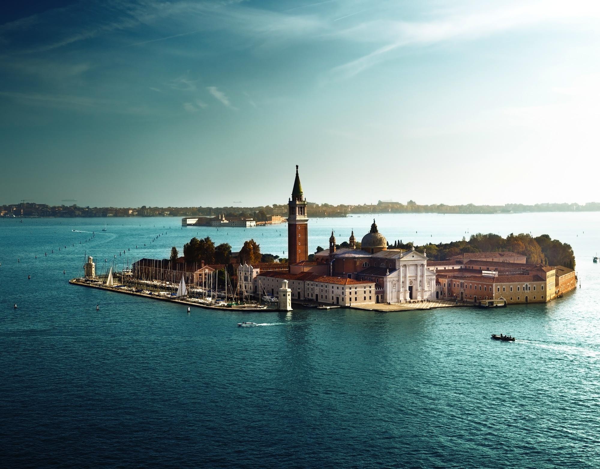 Îles San Giorgio papiers peints photo 3D appliqué sur le mur