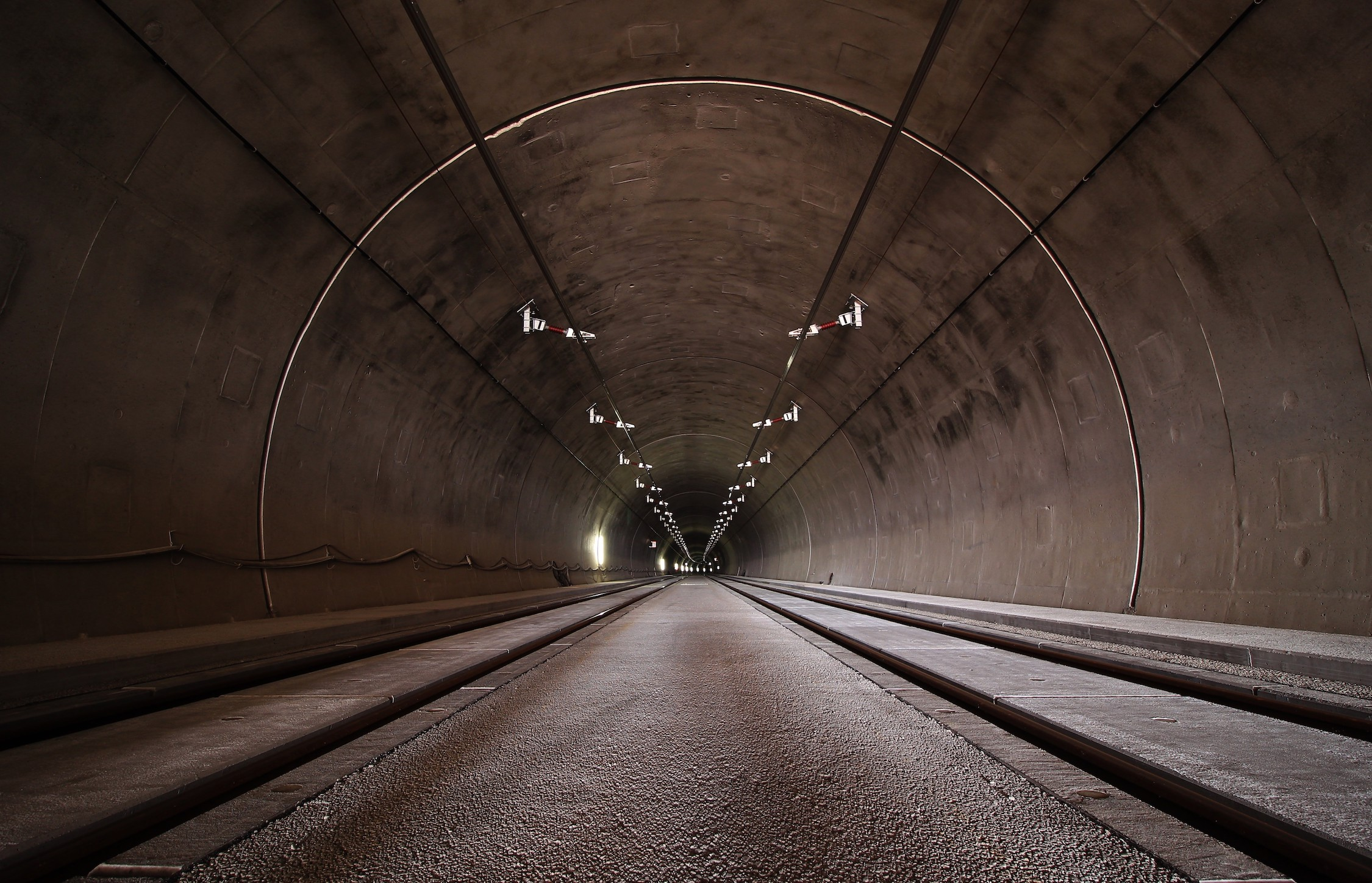 Tunnel profond tapisserie murale