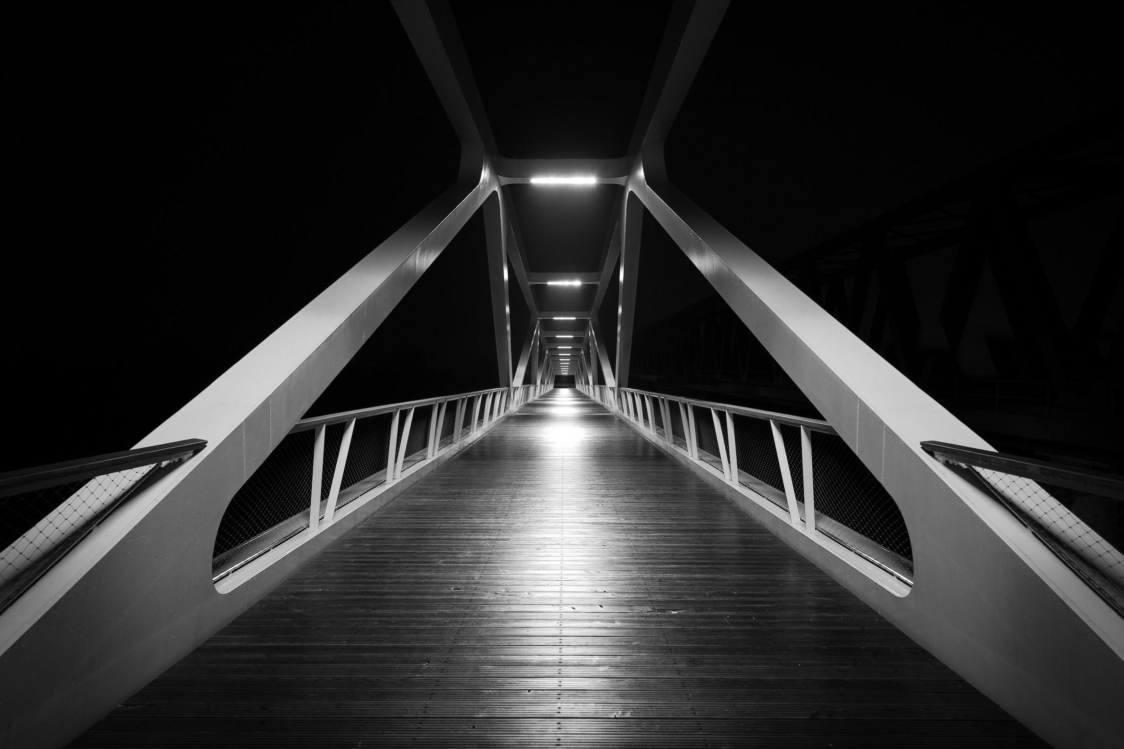 Pont mystérieux tapisserie