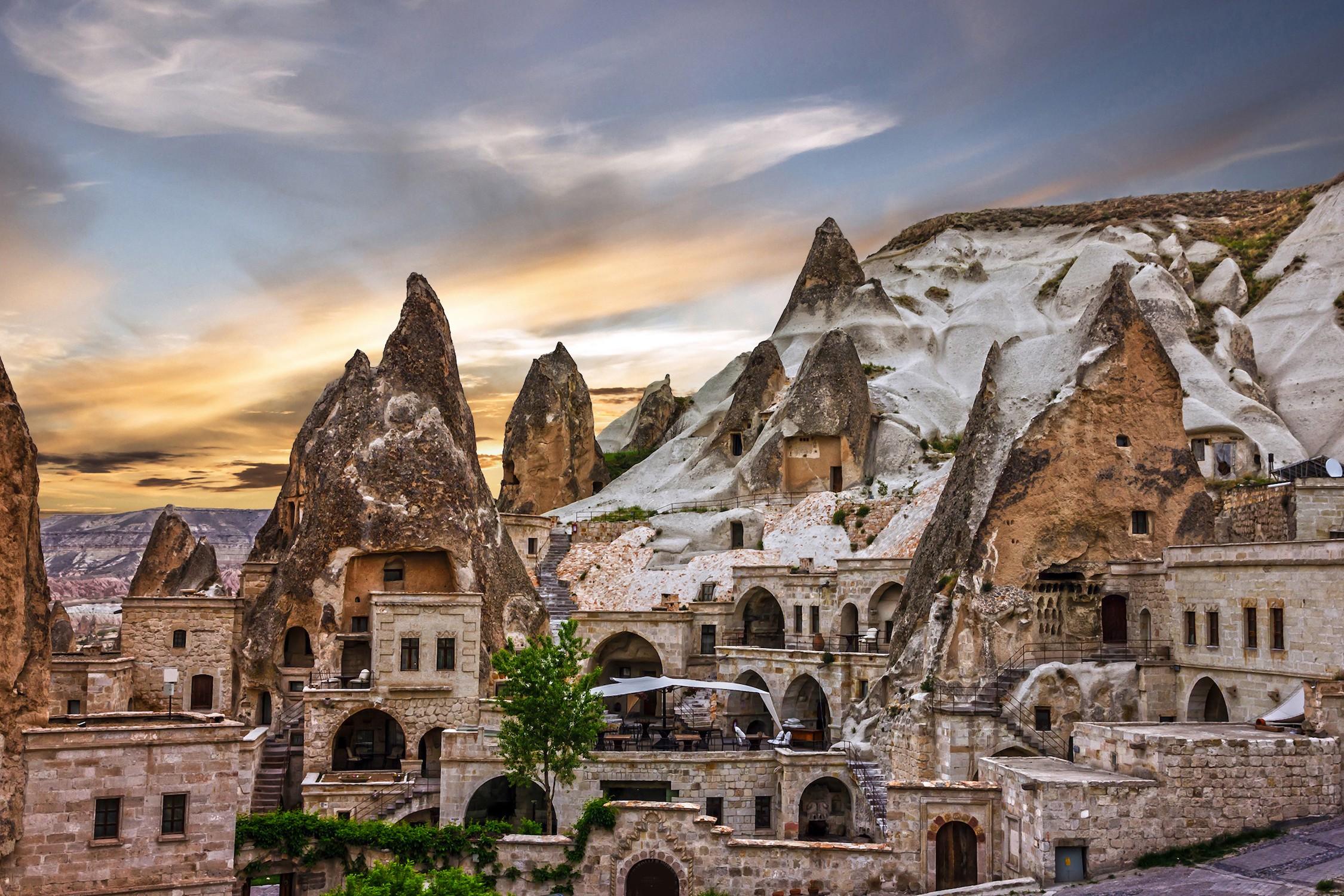 Musée en plein air de la Cappadoce papier peint 3d
