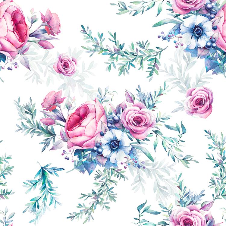 Parfum de rose tapisserie