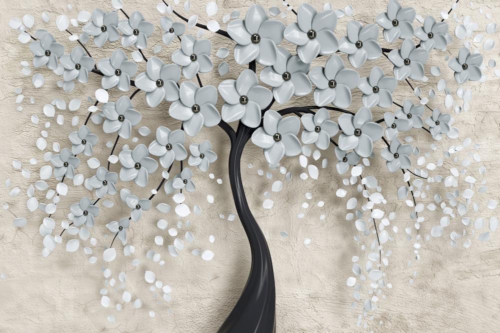 Fabrication d'arbres papier peint