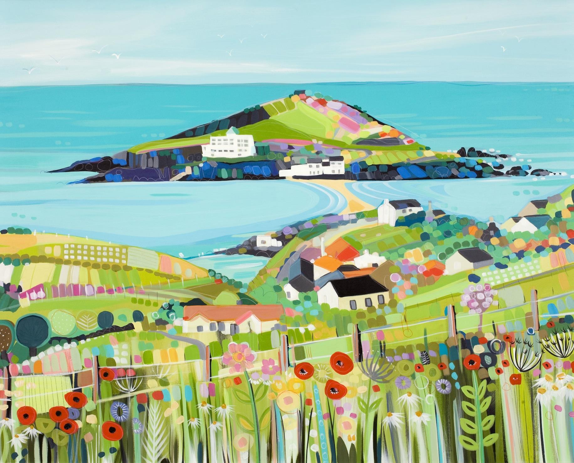 Îles de couleur papiers peints photo