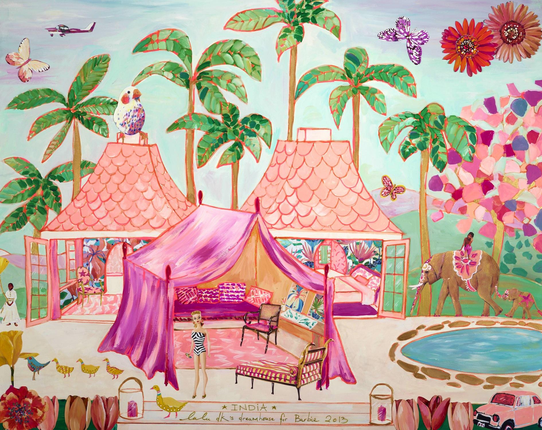 Barbie dans Si papier peint