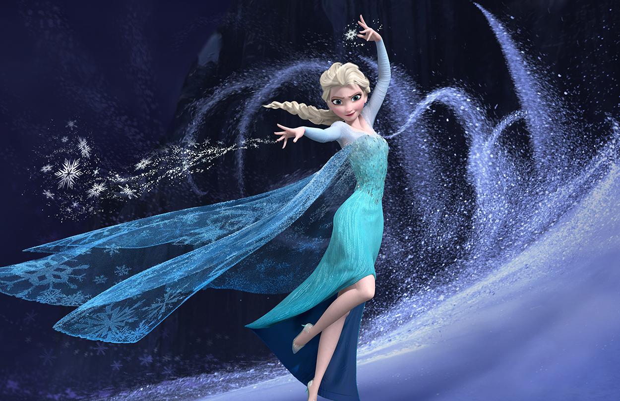 La magie d'Elsa tapisserie
