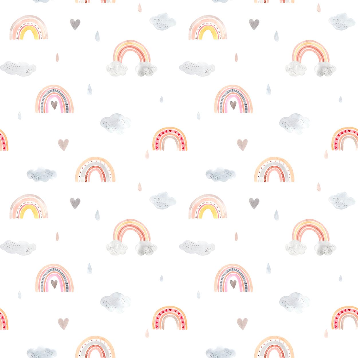 Conception arc-en-ciel tapisserie