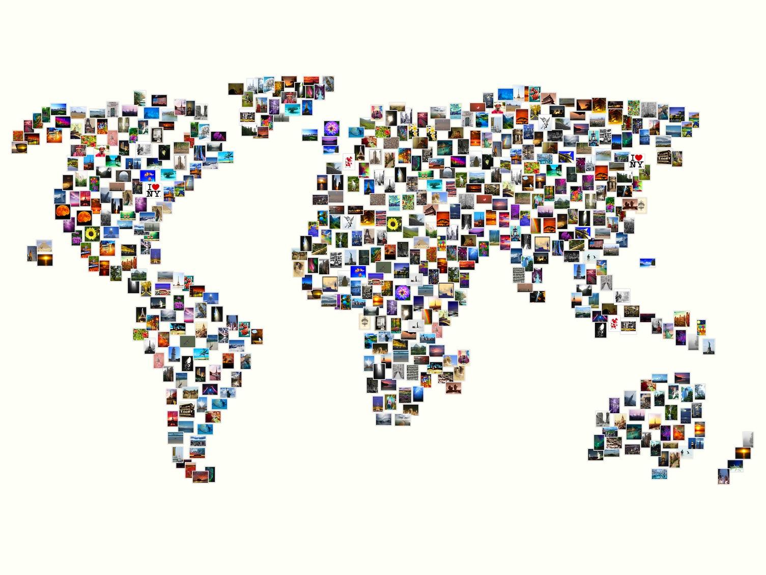 Monde en Photos decoration murale