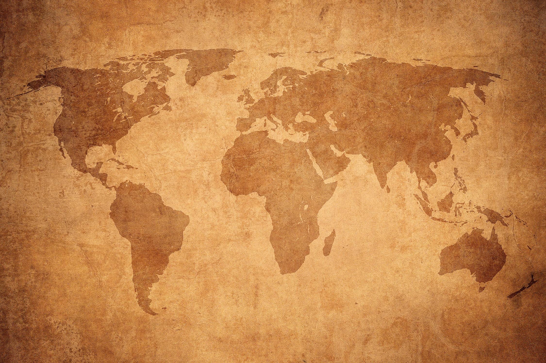 Dessin de mur du vieux monde papier peint