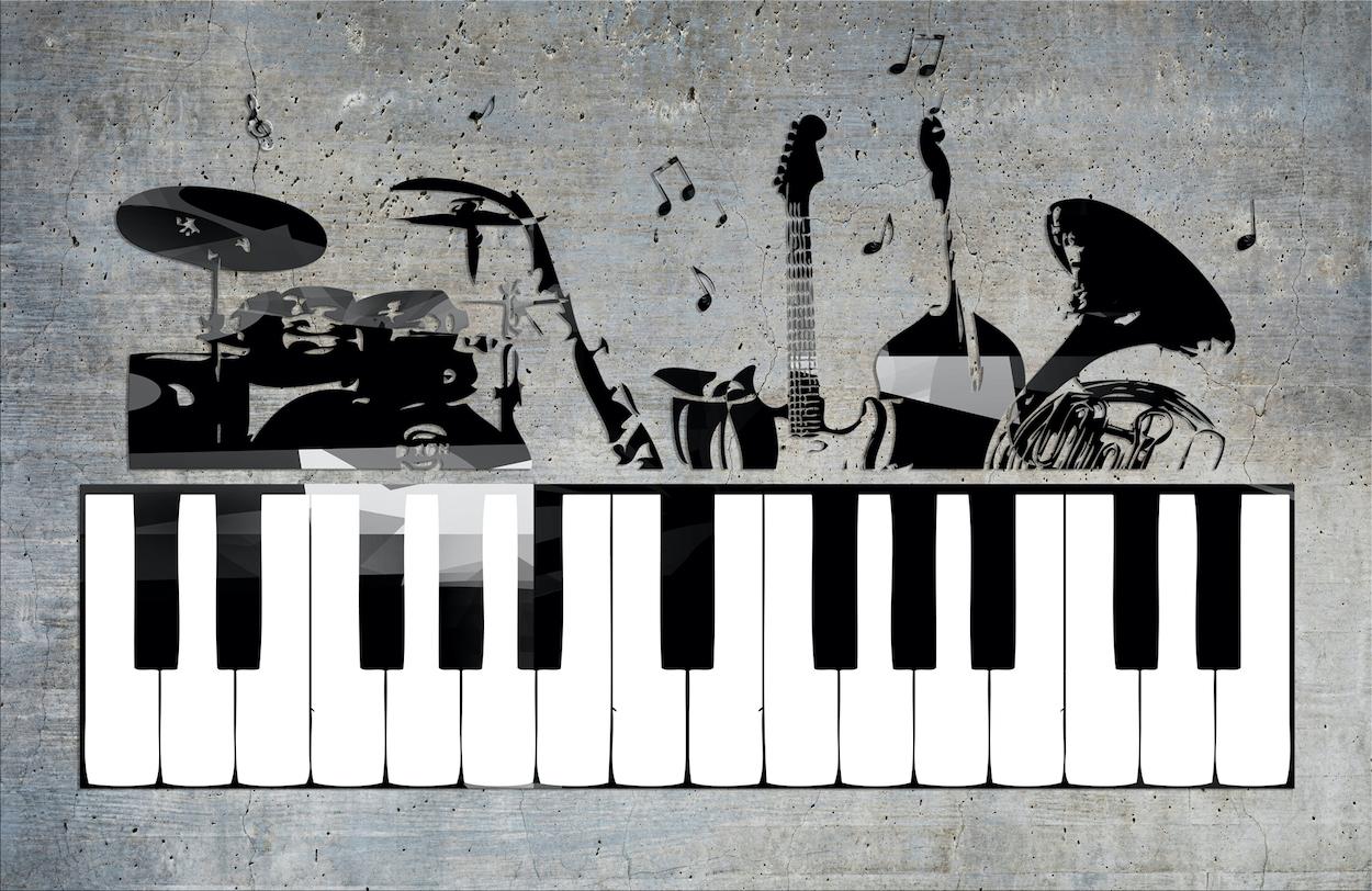 Studio Denregistrement De Musique Papier Peint Photo