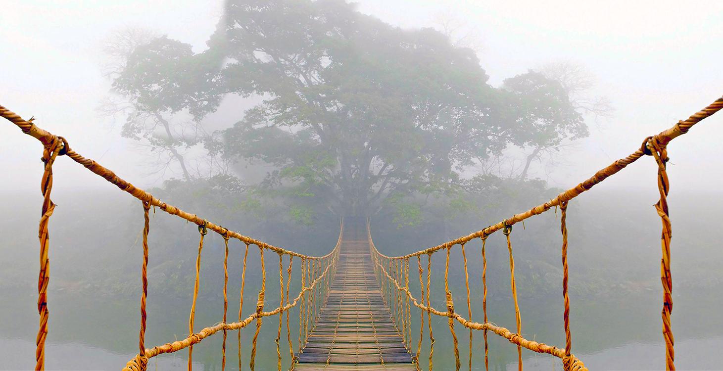 Image de pont profond papiers peints photo