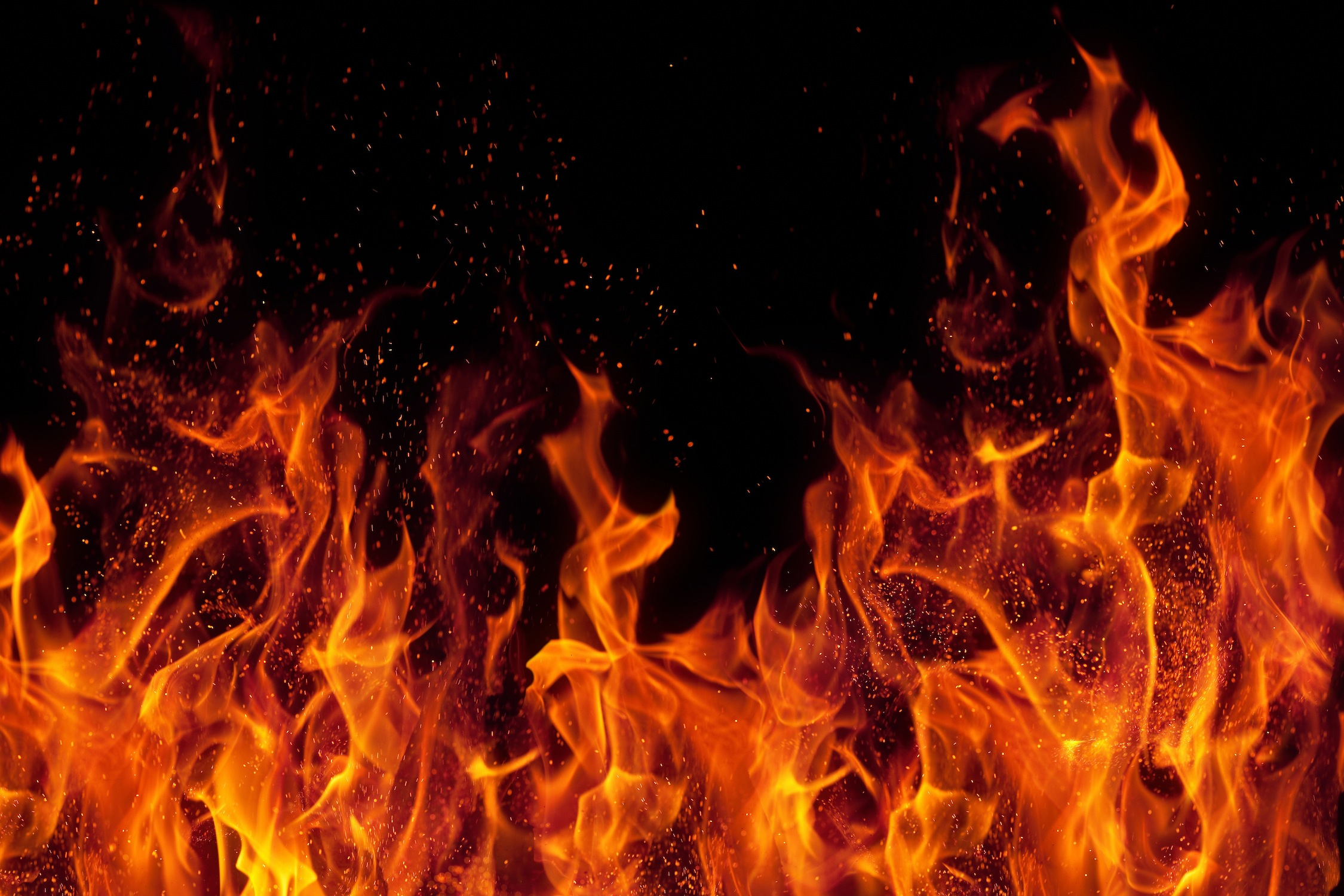 Flamme papiers peints photo 3D