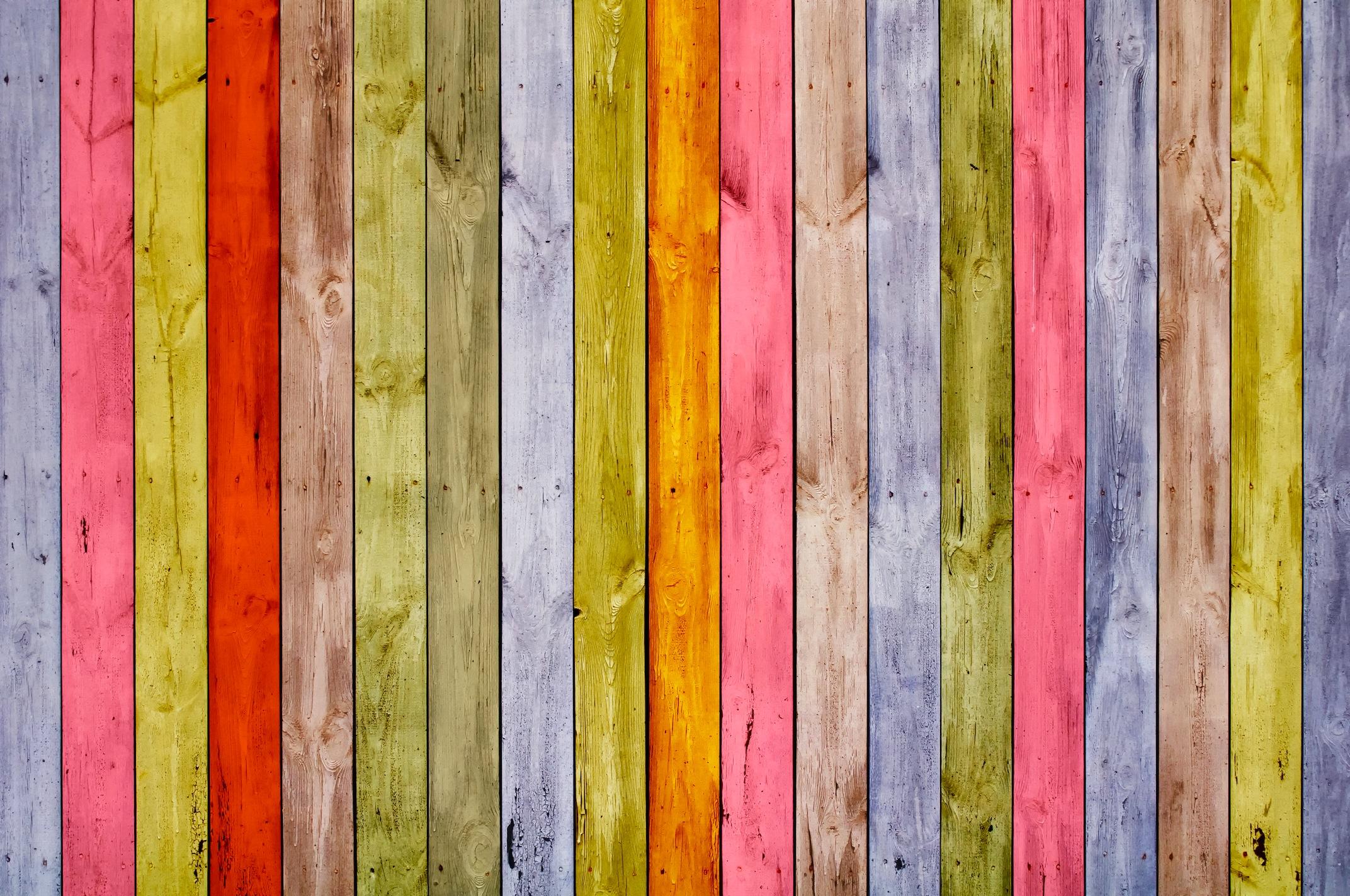 Décorations en bois tapisserie murale