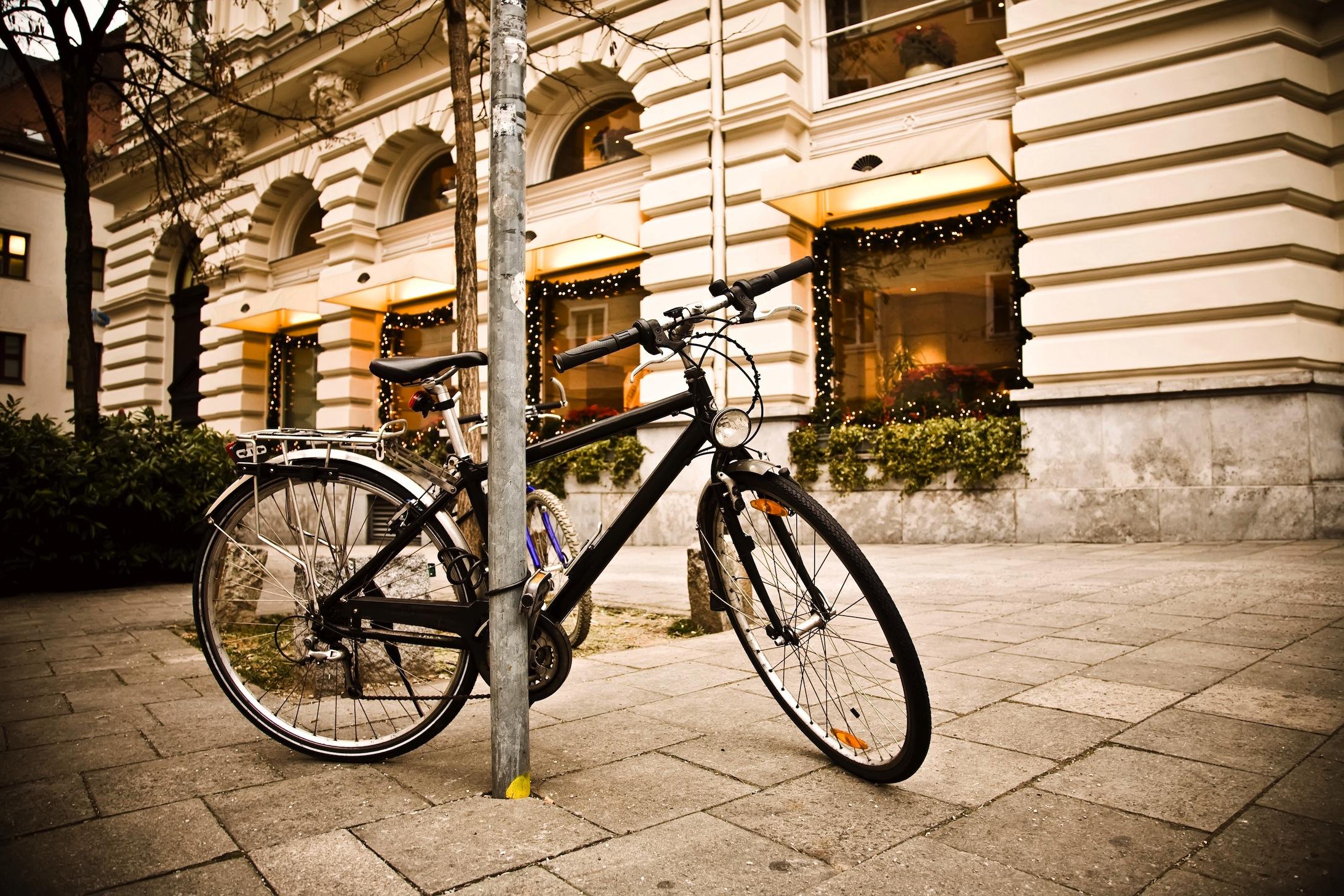 Tour à vélo decoration murale