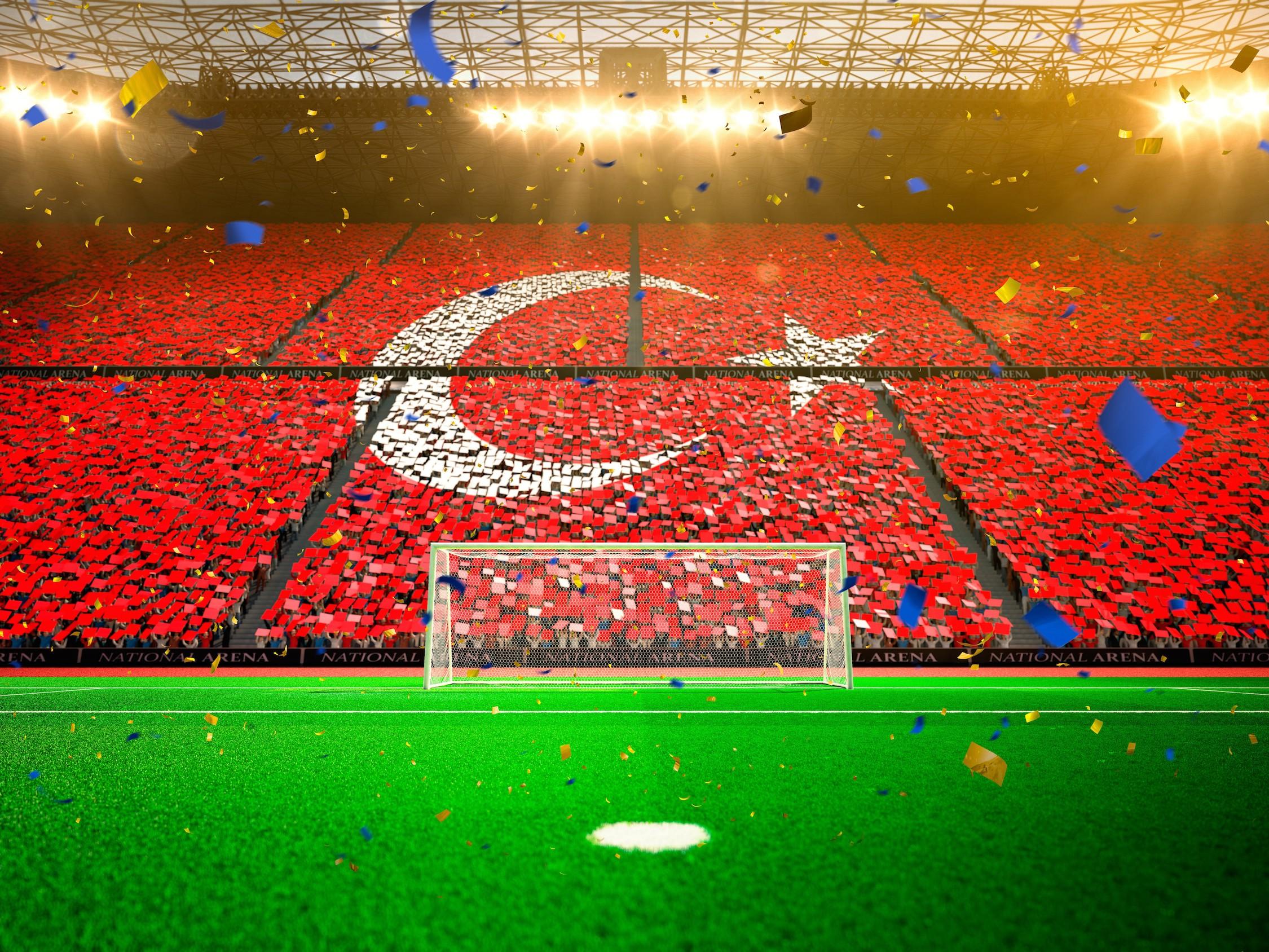 Le cœur de la Turquie tapisserie