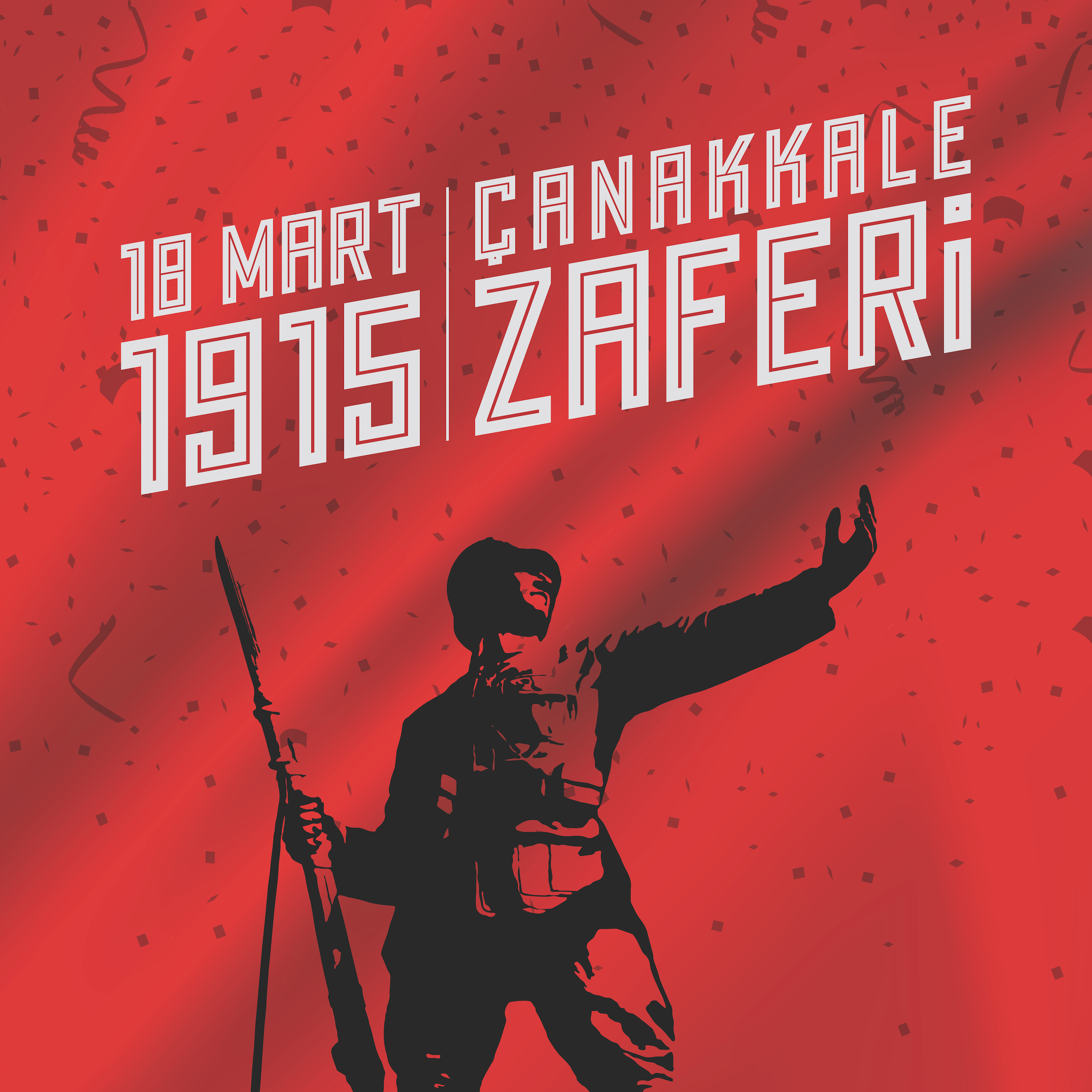 18 mars Victoire de Canakkale decoration murale