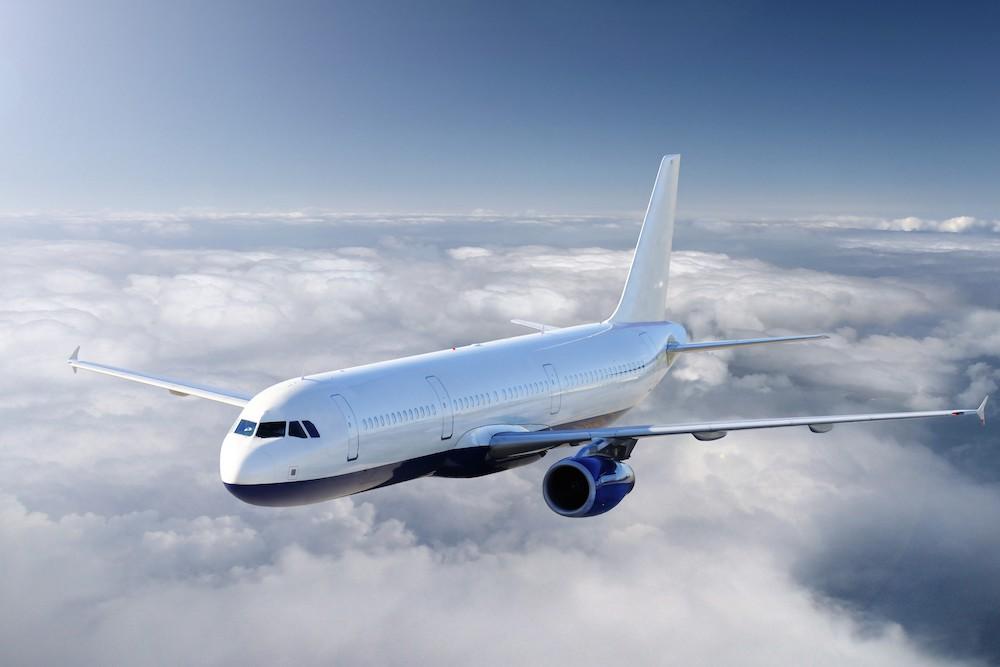 Modèle d'avion Boeing papier peint