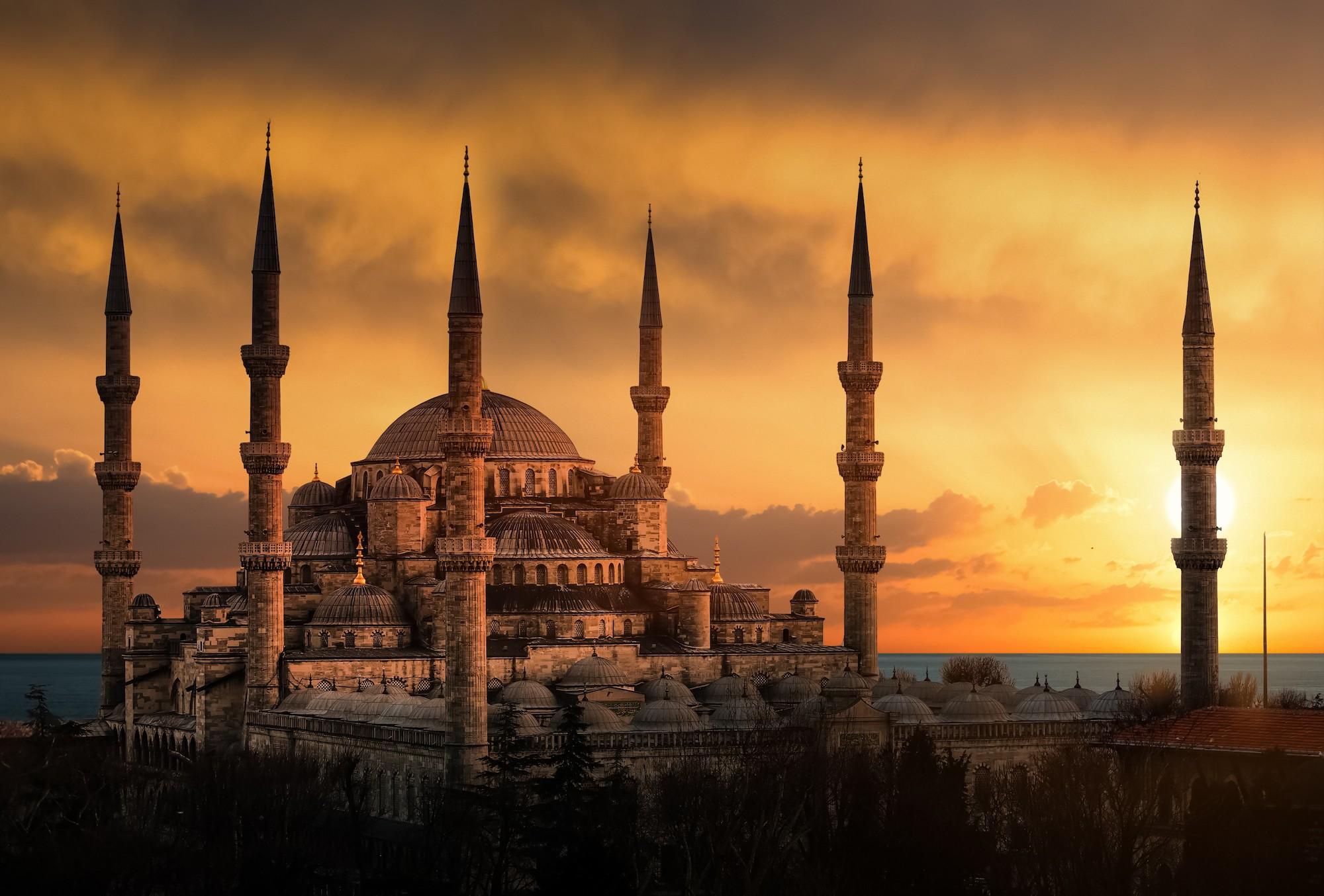 Mosquée - Service de culte islamique papiers peints photo