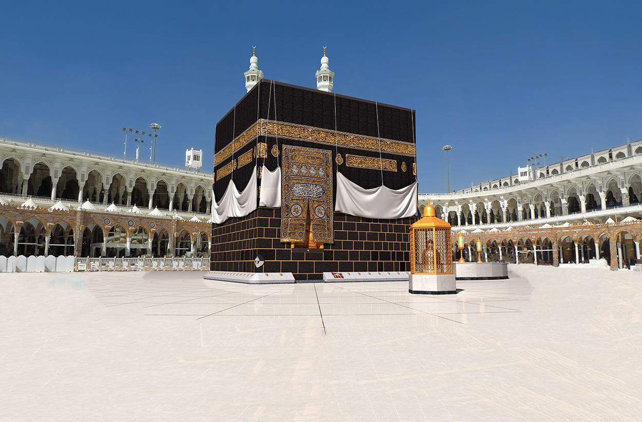 Photo de la Kaaba papiers peints photo 3D