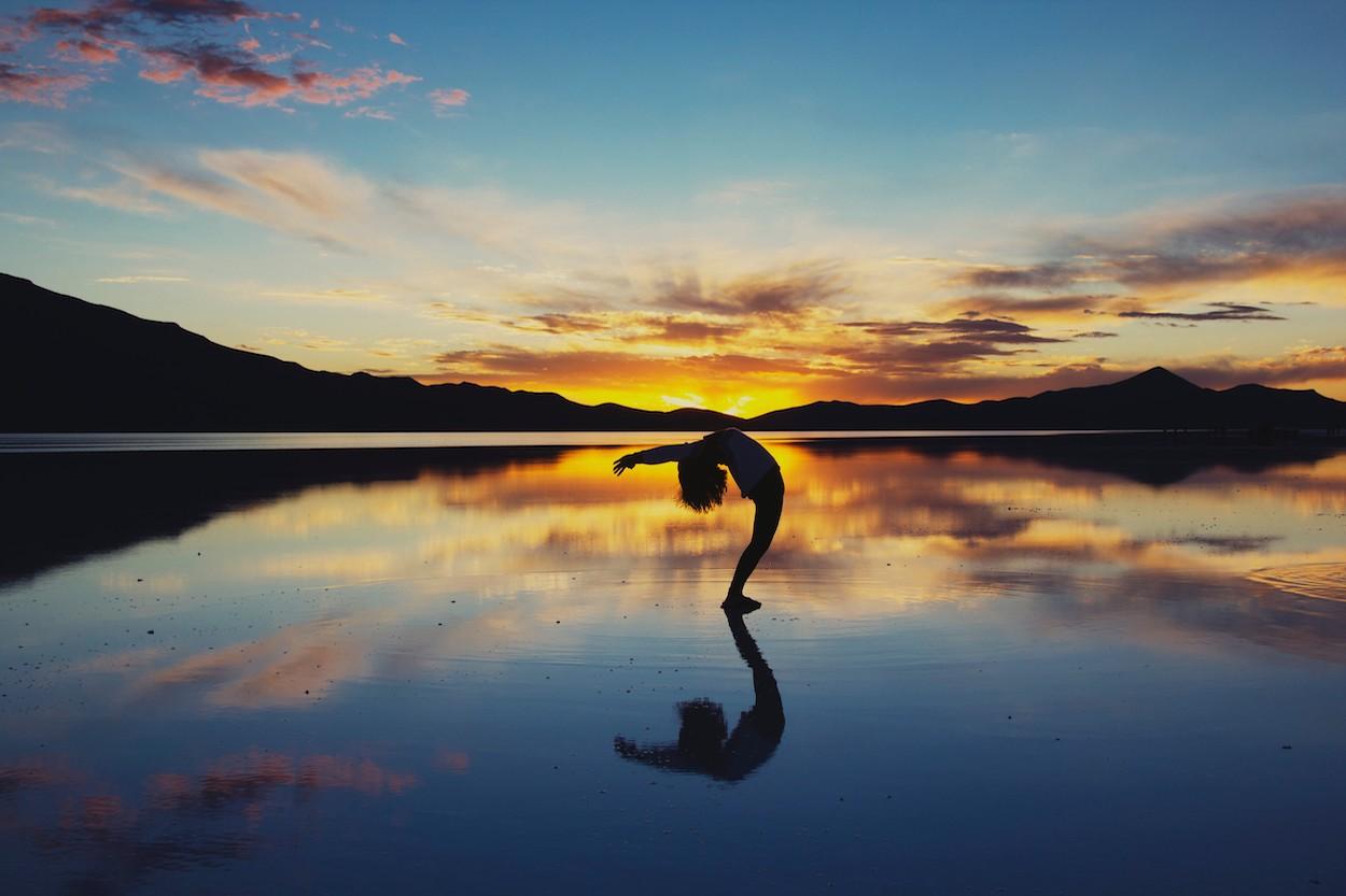 Yoga et paix papiers peints photo 3D
