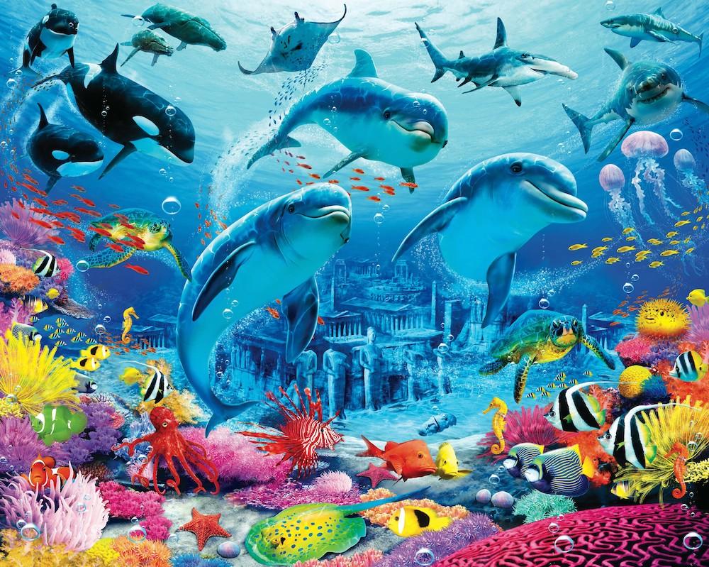 Créatures sous-marines papiers peints photo