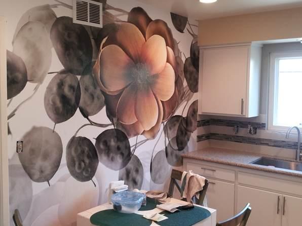 Papier peint pour la cuisine