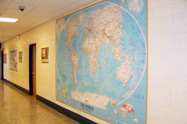 Papier peint pour l'école et la maternelle